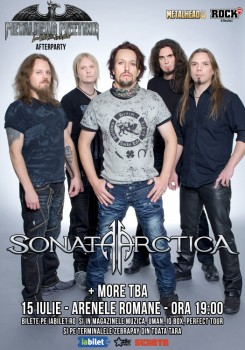 Concert Sonata Arctica la Arenele Romane din Bucureşti (CONCURS)