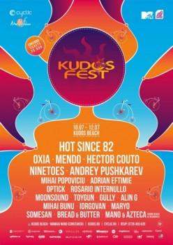 Kudos Fest 4 la Kudos Beach din Mamaia