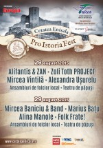 Pro Istoria Fest 2015 la Cetatea Enisala