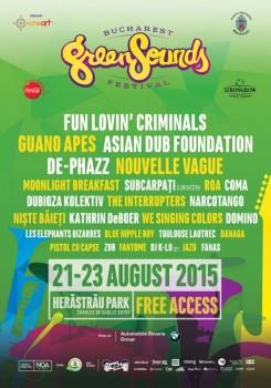 Bucharest GreenSounds Festival 2015