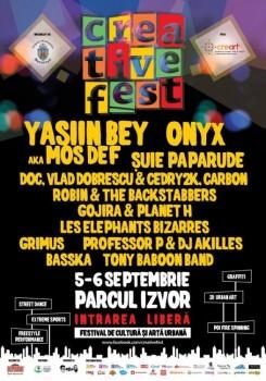 Creative Fest 2015 în Parcul Izvor din Bucureşti