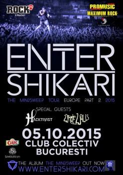 Concert Enter Shikari în Colectiv din Bucureşti