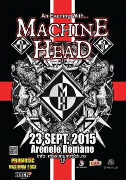 Concert Machine Head la Arenele Romane din Bucureşti