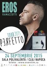 Concert Eros Ramazzotti la Sala Polivalentă din Cluj-Napoca