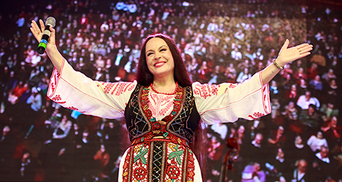 FOTO: Maria Dragomiroiu – concert aniversar la Sala Palatului din Bucureşti