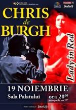 Concert Chris de Burgh la Sala Palatului din Bucureşti