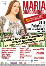 Concert aniversar Maria Dragomiroiu la Sala Palatului din Bucureşti