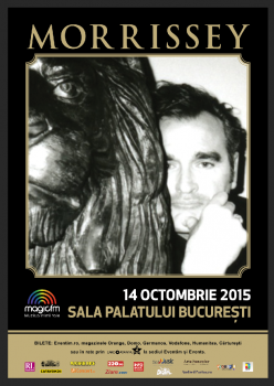 Concert Morrissey la Sala Palatului din Bucureşti