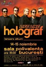 """Holograf – turneu naţional lansare album """"Life Line"""""""