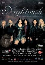 Concert Nightwish la Romexpo din Bucureşti