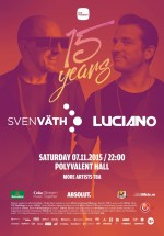 The Mission – 15 years – Sven Väth & Luciano la Sala Polivalentă din Bucureşti