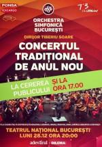 Concert Orchestra Simfonică Bucureşti la Teatrul Naţional din Bucureşti
