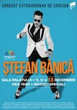 Ştefan Bănică, concerte de Crăciun 2015, la Sala Palatului din Bucureşti