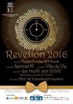 Revelion 2016 în Piaţa Unirii din Cluj-Napoca