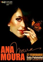 Concert Ana Moura la Sala Palatului din Bucureşti şi la Sala Polivalentă din Cluj-Napoca