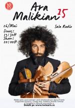 Concert Ara Malikian la Sala Radio din Bucureşti