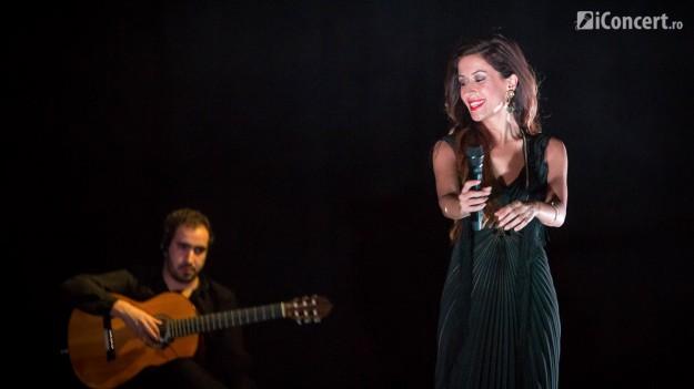 FOTO: Ana Moura la Sala Palatului din Bucureşti
