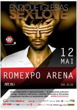 """Concert Enrique Iglesias – """"Sex and Love"""", la Romexpo din Bucureşti"""
