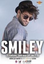 Concert Smiley & Band în Hard Rock Cafe din Bucureşti