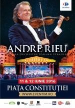 Concert André Rieu în Piaţa Constituţiei din Bucureşti