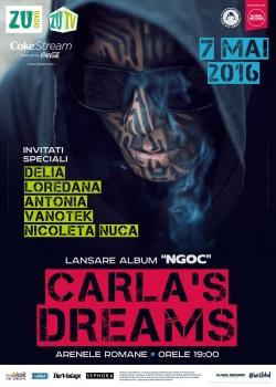 """Concert Carla's Dreams – lansare """"NGOC"""", la Arenele Romane din București"""