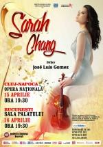 Concerte Sarah Chang la Opera Română din Cluj-Napoca şi Sala Palatului din Bucureşti