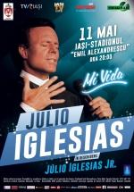 """Concert Julio Iglesias pe stadionul """"Emil Alexandrescu"""" din Iaşi"""