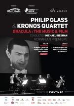 """Concert Philip Glass & Kronos Quartet – """"Dracula: Muzica și Filmul"""" – la Teatrul de Vară Herăstrău din Bucureşti"""