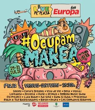 Europa FM Live pe Plajă 2016