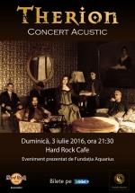 Concert acustic Therion la Hard Rock Cafe din Bucureşti