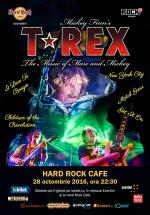 Concert T-REX la Hard Rock Cafe din Bucureşti – ANULAT