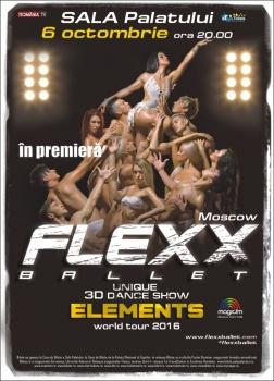 Flexx Ballet la Sala Palatului din Bucureşti – ANULAT