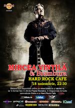 Concert Mircea Vintilă şi Brambura la Hard Rock Cafe din Bucureşti