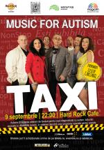 Concert caritabil Taxi la Hard Rock Cafe din Bucureşti