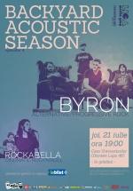 Concerte acustice byron şi Rockabella la Casa Universitarilor din Bucureşti