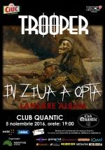 Concert Trooper la club Quantic din Bucureşti