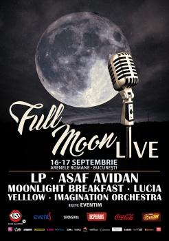 Full Moon Live 2016: Asaf Avidan şi LP la Arenele Romane din Bucureşti
