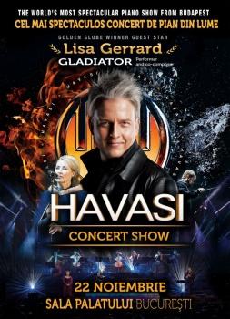 Concert HAVASI la Sala Palatului din Bucureşti