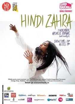 Concert Hindi Zahra la Arenele Romane din Bucureşti