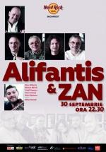 Concert Nicu Alifantis şi Zan la Hard Rock Cafe din București