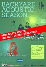 Concert Travka şi Lucia la Clubul Ţăranului din Bucureşti