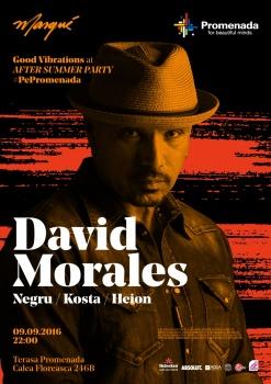David Morales la Promenada Mall din Bucureşti