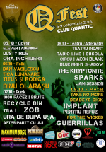 Q Fest în Club Quantic din Bucureşti