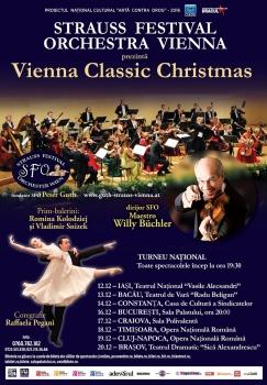 "Turneu ""Vienna Classic Christmas 2016"" – Strauss Festival Orchestra Vienna"