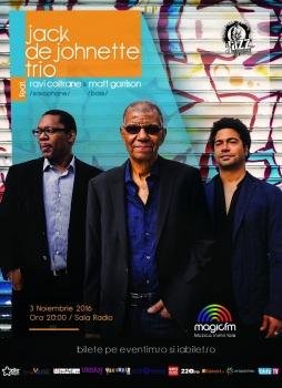 Concert Jack DeJohnette Trio feat. Ravi Coltrane & Matt Garrison la Sala Radio din Bucureşti