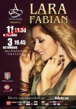 Concert Lara Fabian la Sala Polivalentă din Craiova