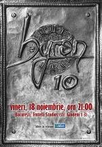 Concert aniversar byron – 10 ani în Fratelli Studios din Bucureşti