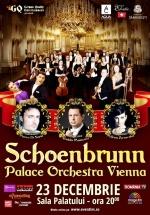 """Concert Schoenbrunn Palace Orchestra Vienna """"Bijuterii muzicale de Crăciun"""" la Sala Palatului din Bucureşti"""