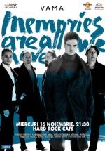 Concert Vama la Hard Rock Cafe din Bucureşti