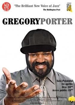 Concert Gregory Porter la Sala Palatului din Bucureşti